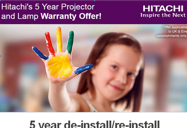 Hitachi 5year Warranty