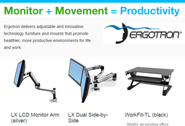 ergotron mounts